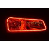 Chevy Silverado V.3 Color Change upper outline halo headlight kit (2003-2006)