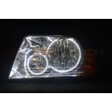 Ford Expedition white halo headlight kit (2003-2006)