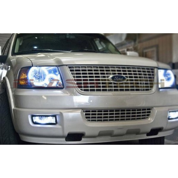 Ford Expedition White Halo Headlight Kit  2003