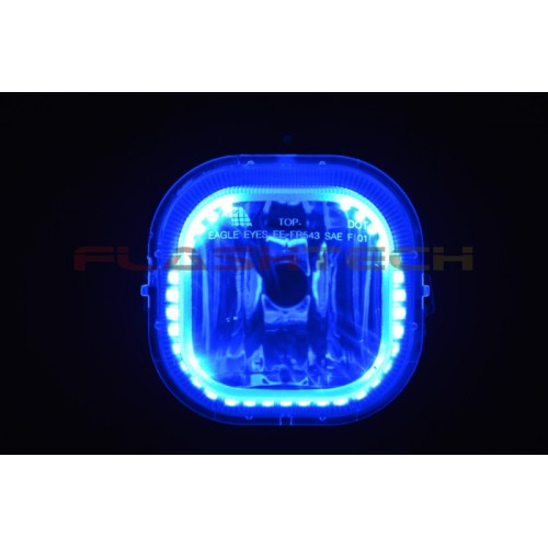 Ford F250 F350 V 3 Fusion Color Change Halo Fog Light Kit 2001 2004
