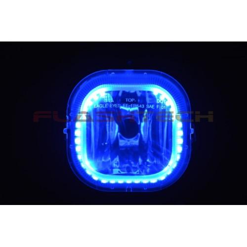Jeep Halo Headlights >> Ford F250 / F350 V.3 Fusion Color Change halo Fog light kit (2001-2004)