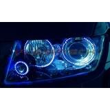 Jeep Grand Cherokee V.3 Fusion Color Change LED Halo Headlight Kit (2011-2013)