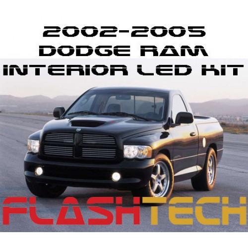 2003 Dodge Ram Van 3500 Interior: 2002-2005 Dodge Ram White LED Interior Kit