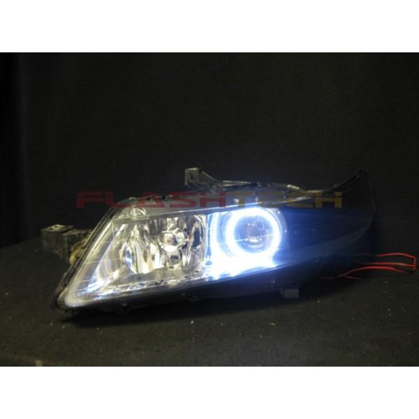 Acura TL White LED Halo Headlight Kit (2005-2007
