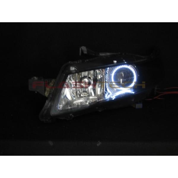 Acura Tl White Led Halo Headlight Kit 2005 2007