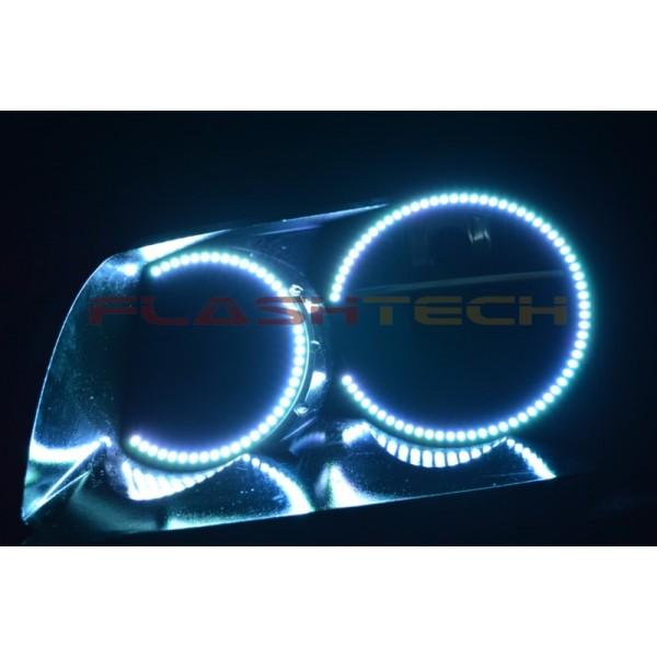 Dodge Magnum V.3 Fusion Color Change LED Halo Headlight ...