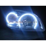 Chevrolet Cobalt White LED HALO HEADLIGHT KIT  (2005-2010)