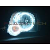 Ford Explorer Sport Trac White LED HEADLIGHT HALO KIT (2006-2010)