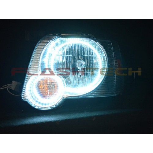 Ford Explorer Sport Trac White Led Headlight Halo Kit