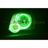 Ford Explorer Sport Trac V.3 Fusion Color Change LED Halo Headlight Kit (2006-2010)