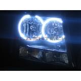 Chevrolet Avalanche White LED HALO HEADLIGHT KIT (2007-2013)