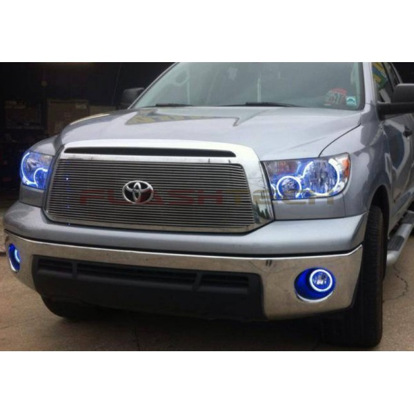 home toyota tundra v 3 fusion color change halo fog light kit 2007. Black Bedroom Furniture Sets. Home Design Ideas