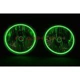 Hummer H2 V.3 Fusion Color Change LED Halo Headlight Kit (2003-2009)