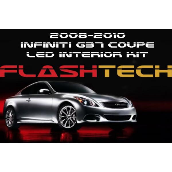 2010 Infiniti G37 Convertible: 2008-2010 G37 Coupe White LED Interior Kit