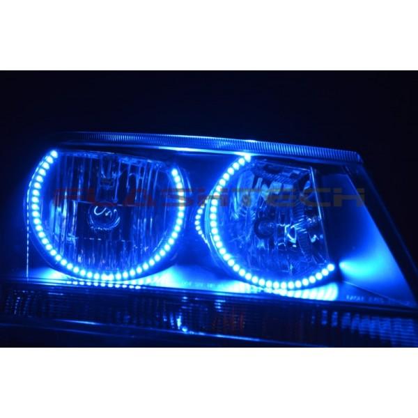 Dodge Avenger V.3 Fusion Color Change LED HALO HEADLIGHT ...