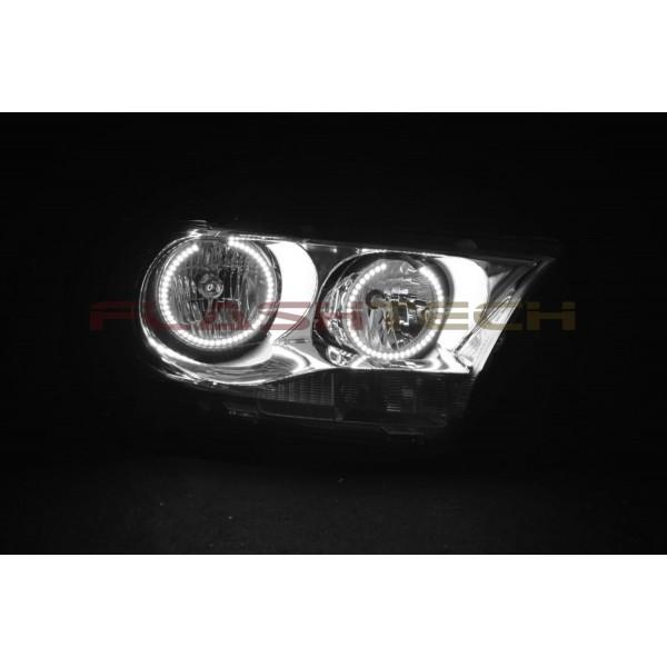 Dodge Durango White Led Halo Headlight Kit 2011 2013