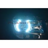 Chevrolet Camaro Non RS White LED HALO HEADLIGHT KIT (2014+)