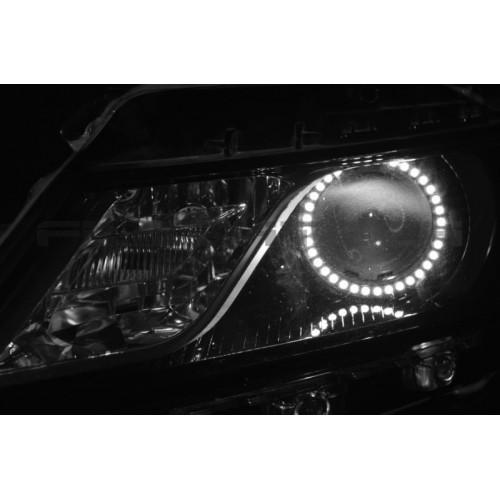 chevrolet impala white led halo headlight kit  2014 2010 hyundai accent headlight wiring diagram 2010 hyundai accent headlight wiring