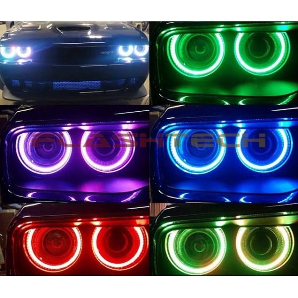 Dodge Challenger Projector V 3 Fusion Color Change Led
