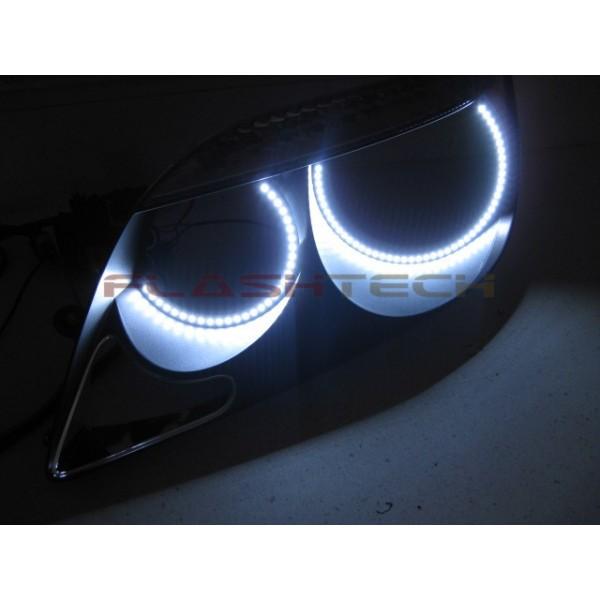 Scion Tc White Led Halo Headlight Kit 2005 2007