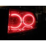 Dodge Charger White LED HALO TAIL LIGHT KIT (2005-2007)