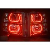 Chevrolet Silverado V.3  Fusion Color Change halo headlight kit (2007-2013)