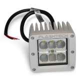 Flashtech LED Fog Light: 6 led standard mount White