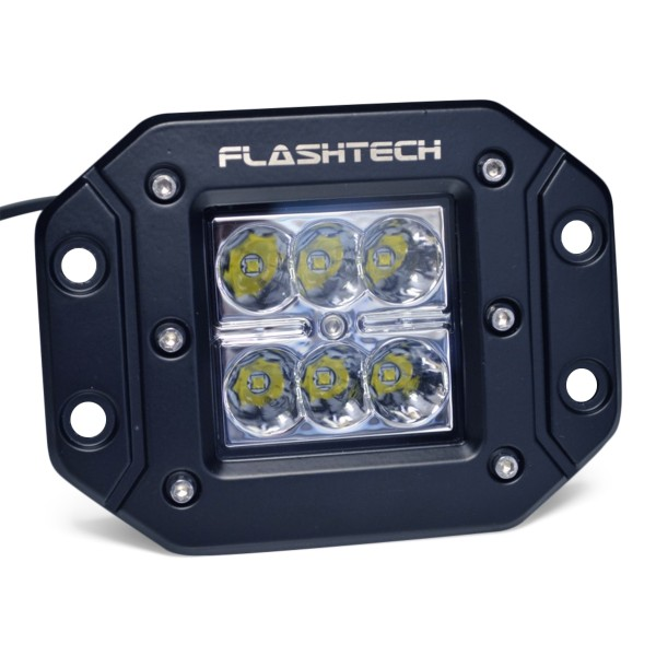 12 Volt Led Fog Lights : Flashtech led fog light flush mount