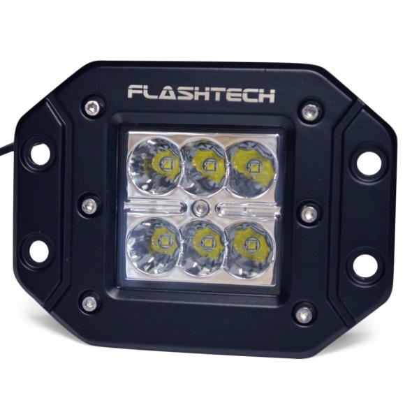 Led Flush Mount Lights: flashtech Flashtech LED Fog Light: 6 led Flush mount Flush Mount  FTLB1218FC-B,Lighting