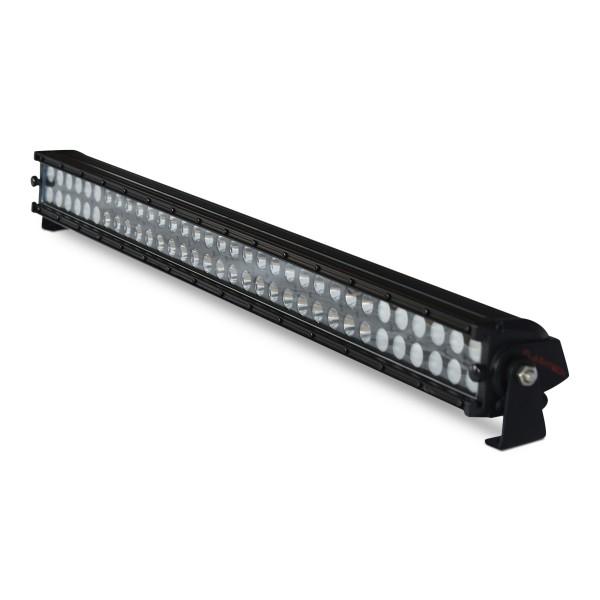 flashtech black led light bar dual row 32 inch