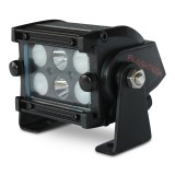 Flashtech Black LED Light Bar - Dual row 4 inch