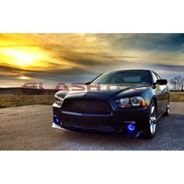 2014 Dodge Charger Warranty >> Dodge Charger V.3 Fusion Color Change LED Halo Fog Light Kit (2011 - 2014)