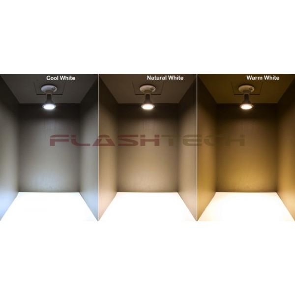 Warm White Light Bulbs: flashtech E27 9 Watt LED Light Bulb - Standard LED Bulb Replacement - Warm  White COMMERCIAL,Lighting