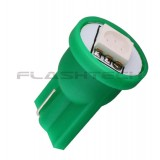 Flashtech T10 1 SMD Led bulb: Green