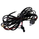 Flashtech 40 Amp LED Light Bar Wiring Kit Harness Relay On/Off Switch Kit : single connector