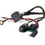 Flashtech 40 Amp LED Light Bar Wiring Kit Harness Relay On/Off Switch Kit: dual connector