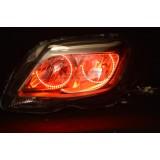 Mercedes GLK 350 V.3  Fusion Color Change LED Halo Headlight Kit (2013-2014)