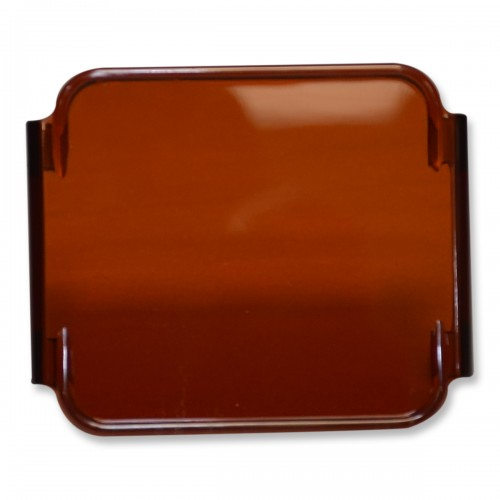 colored cube fog lens cover  amber