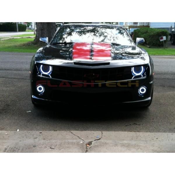Chevrolet Camaro Non Rs White Led Halo Headlight Kit 2010