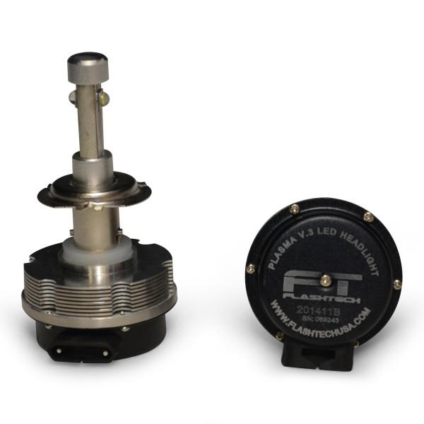 H7 Led Bulb Z1000: FLASHTECH V.3 Plasma LED Replacement HEADLIGHT BULBS: H7