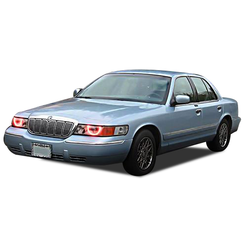 led headlight halo ring rgb multi color kit for mercury grand marquis 98 02 ebay details about led headlight halo ring rgb multi color kit for mercury grand marquis 98 02