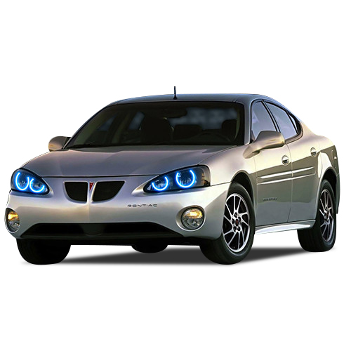 for Pontiac Grand Prix 04-08 Red LED Halo kit for Headlights