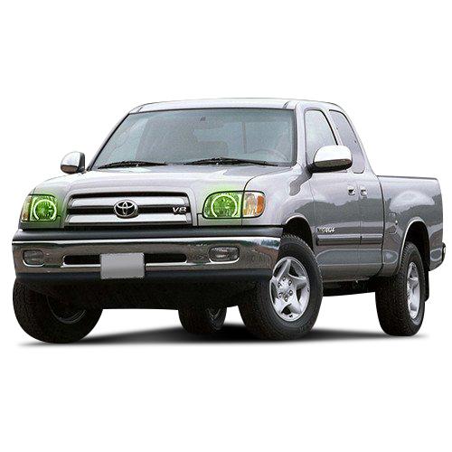 For Toyota Tundra 00-04 RGB Multi Color Bluetooth LED Halo
